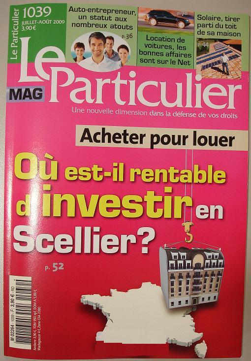 revue de presse magazines juillet 2009. Black Bedroom Furniture Sets. Home Design Ideas