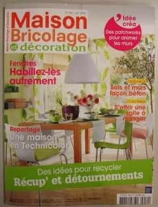 Revue de presse magazines de juin 2009 for Revue bricolage maison