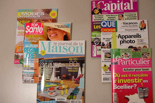 Revue de presse magazines juillet 2009