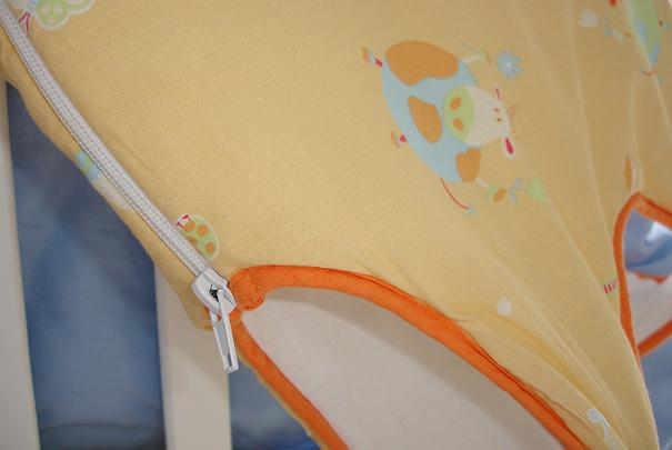 Comment empêcher bébé d'ouvrir la fermeture de sa gigoteuse ?