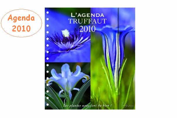 L'agenda Truffaut 2010 est sorti