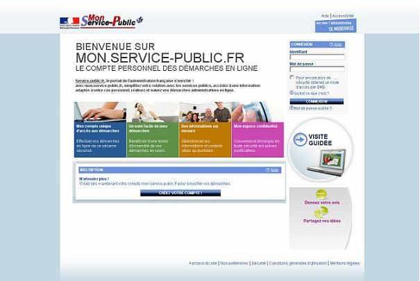 Démarches administratives en ligne avec mon.service-public.fr