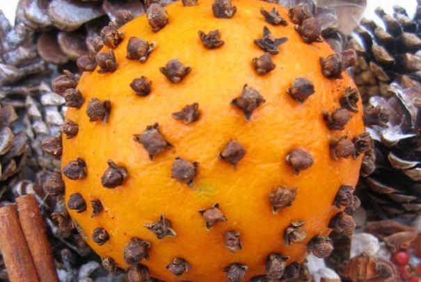 Des oranges aux clous de girofle pour embaumer la maison