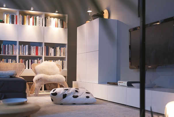 ikea besta combinaison tele. Black Bedroom Furniture Sets. Home Design Ideas