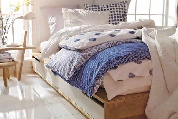 ikea mandal cadre lit. Black Bedroom Furniture Sets. Home Design Ideas