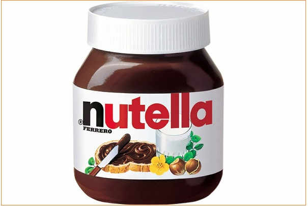 nutella_ferrero_composition