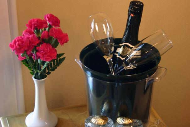 Comment rafraîchir rapidement du vin ou du champagne ?
