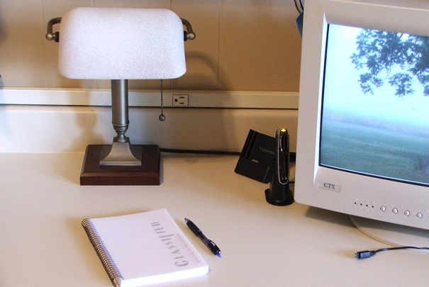Définir un espace bureau dans une chambre