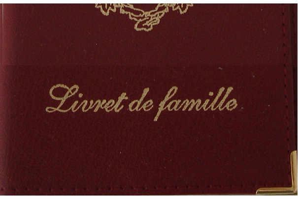 Obtenir un livret de famille ou son duplicata