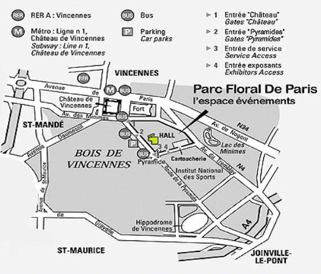 Salon du mariage au parc floral de paris les 27 et 28 - Salon de the vincennes ...