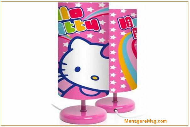rappel de lampes de chevet hello kitty des magasins conforama. Black Bedroom Furniture Sets. Home Design Ideas
