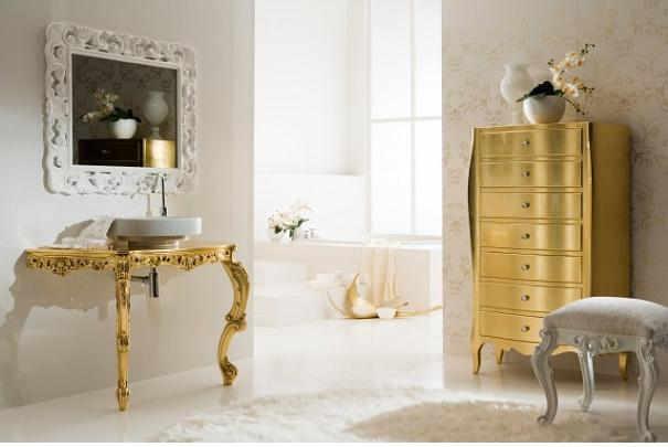 Donner un style rétro à une salle de bain
