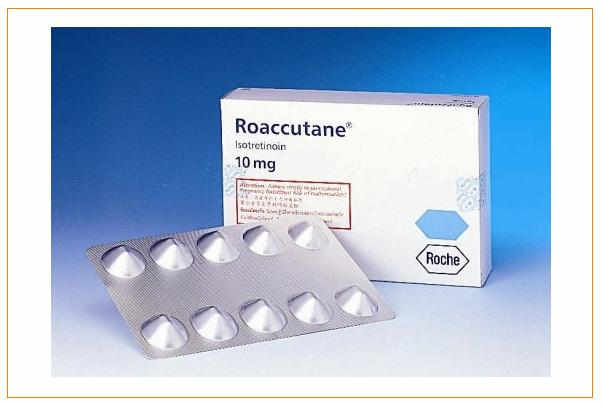 Les médicaments Roaccutane, Contracné, Curacné