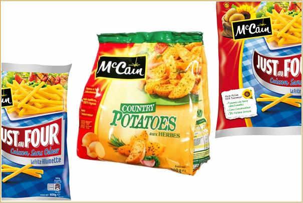 Mccain supprime l huile de palme dans ses frites - Cuiseur frites sans huile ...