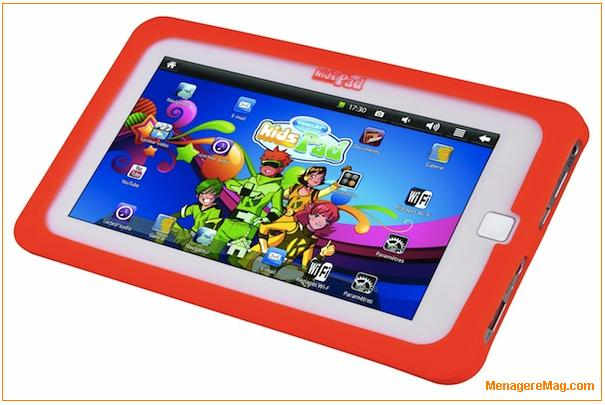Kids pad la premi re tablette tactile pour les 6 12 ans - Tablette tactil pas cher ...