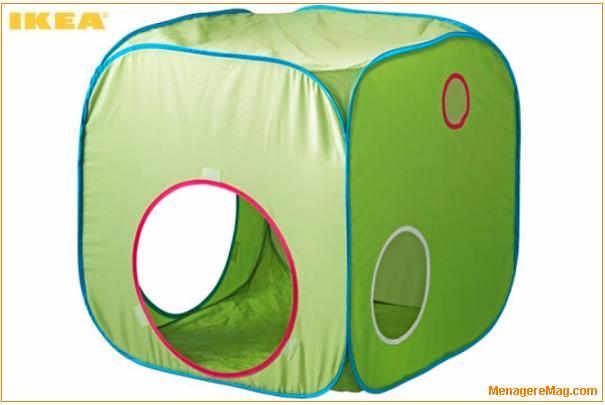 rappel de tentes de jeu pliantes busa des magasins ikea. Black Bedroom Furniture Sets. Home Design Ideas