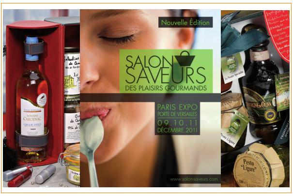 Salon saveurs des plaisirs gourmands du 9 au 11 d cembre for Salon saveurs paris
