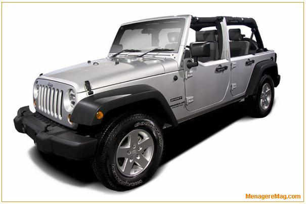 rappel de v hicules jeep wrangler mod le 2010. Black Bedroom Furniture Sets. Home Design Ideas