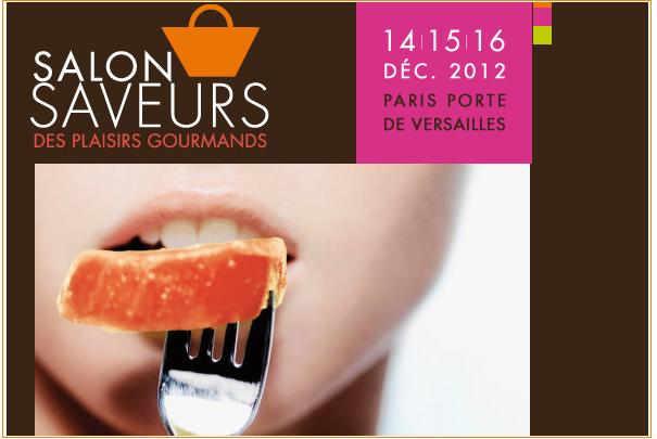 Salon saveurs des plaisirs gourmands du 14 au 16 d cembre for Salon saveurs paris