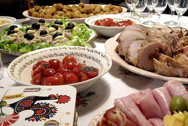 Quantités par invité pour un buffet froid ou chaud