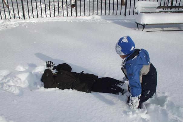 Protection des enfants par grand froid