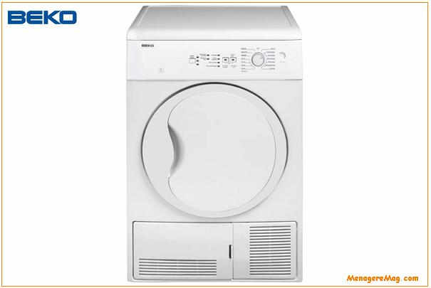 rappel de s che linge condensation de capacit 7 kg de la marque beko. Black Bedroom Furniture Sets. Home Design Ideas