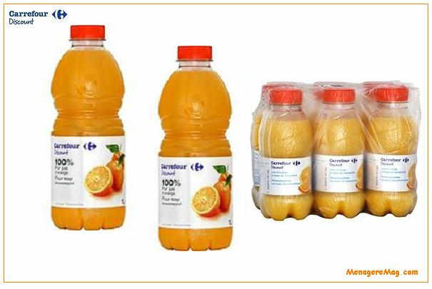 Retrait d un lot de jus d orange carrefour discount - Credit carrefour papier a fournir ...