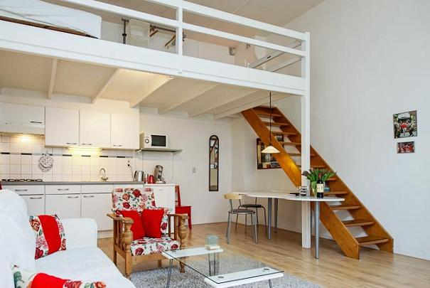 ... Large Table Perfect Kitchen Mezzanine Loft Did Living Rooms Forward