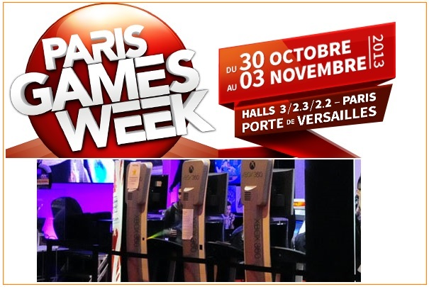 Salon paris games week du 30 octobre au 3 novembre 2013 for Salon a paris ce weekend