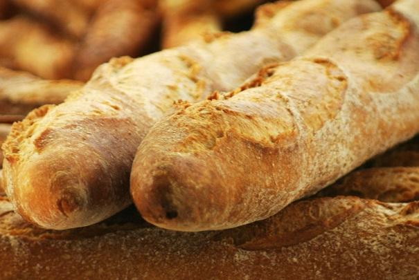 Variation du prix de la baguette de pain