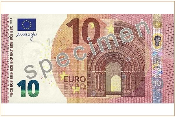 Les nouveaux billets de 10 € sont entrés en circulation