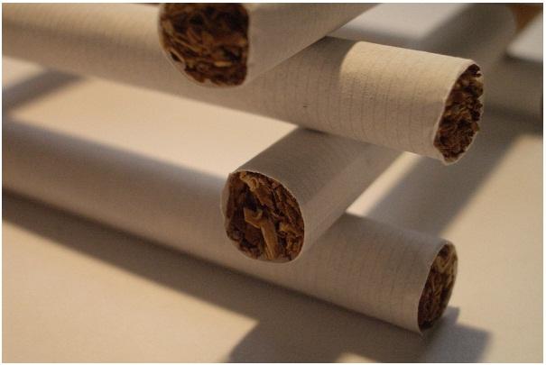 Variation du prix des cigarettes