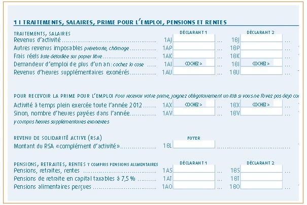 Dates de dépôts des déclarations de revenus 2014