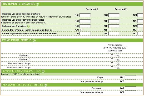 Simulateur en ligne pour calculer vos impôts 2014 sur le revenu