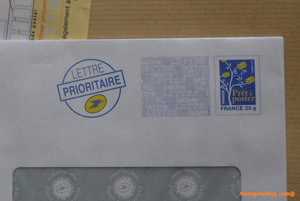 Variation du prix du timbre prioritaire
