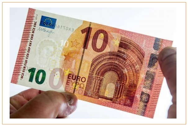 Mise en circulation ce 23 septembre 2014 du nouveau billet de 10 euros