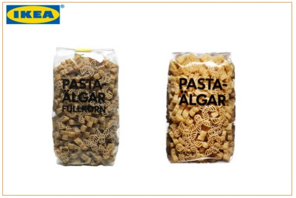 rappel de p tes alimentaires pasta lgar et pasta lgar fullkorn vendues chez ikea. Black Bedroom Furniture Sets. Home Design Ideas